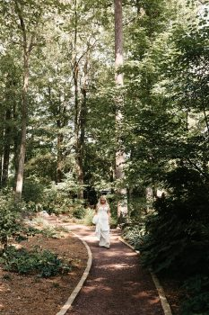 Duke Gardens Bride First Look