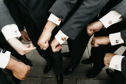 Groomsmen Gifts Superhero Cufflinks
