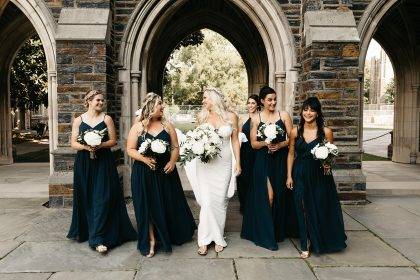 Navy Blue Bridesmaids Dresses Durham NC