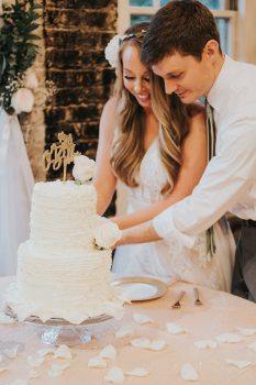 Newlyweds Cake Cutting